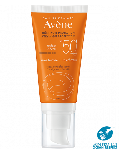 AVENE 50+ CREMA FACIAL COLOR 50 ML