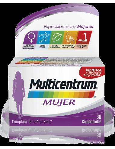 MULTICENTRUM MUJER 30 COMP