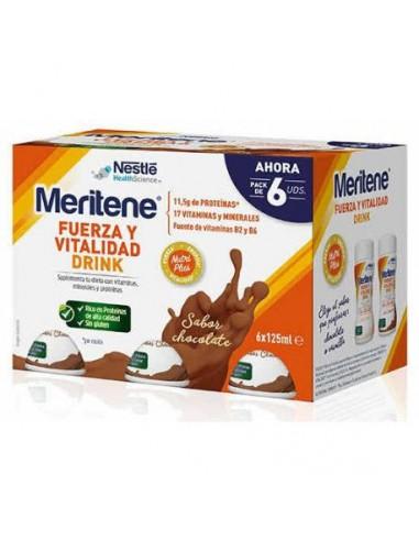 MERITENE DRINK CHOCOLATE PACK 6...