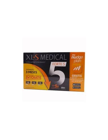 XLS MEDICAL FORTE5 NUDGE 180 COMPRIMIDOS