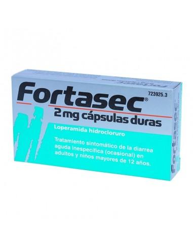 FORTASEC 2 MG 20 CAPSULAS (DIARREA)