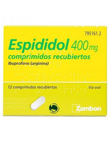 ESPIDIDOL 400 MG 12 COMPRIMIDOS...