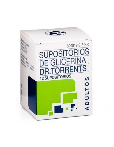 DR TORRENTS SUPOSITORIOS GLICERINA...